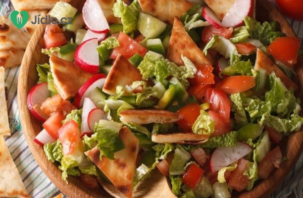 Salát Fatouche recept