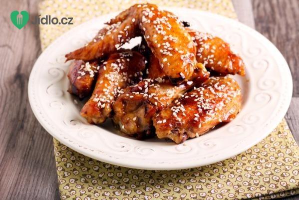 Sezamová kuřecí křidélka recept