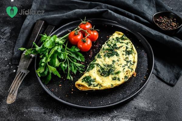 Špenátová omeleta z bílků recept