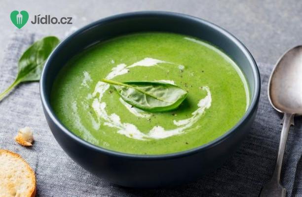 Špenátová polévka recept