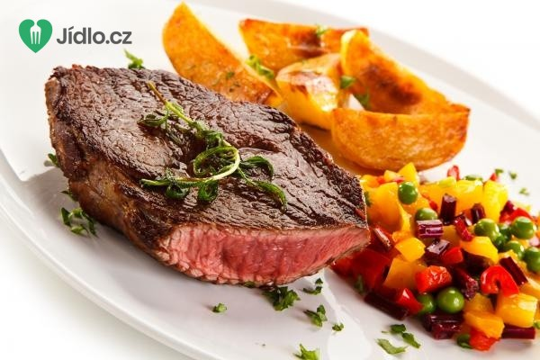 Steak s medovou omáčkou recept