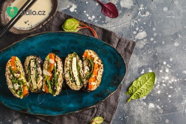 Sushi sendvič onigirazu recept