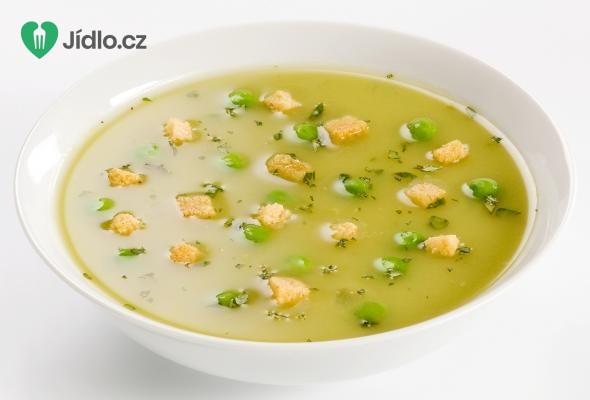 Sváteční hrachová polévka recept
