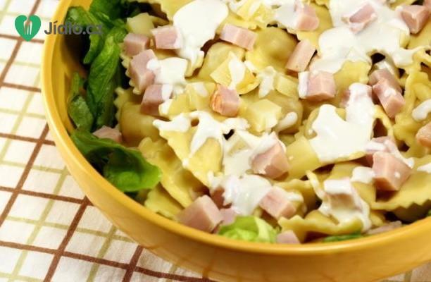 Těstovinový salát se zeleninou a dresinkem recept