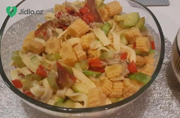 Tagliatelle se zeleninou recept
