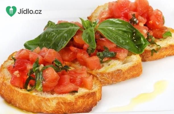 Tomatová bruschetta (brusketa) recept