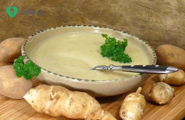 Topinamburová polévka recept