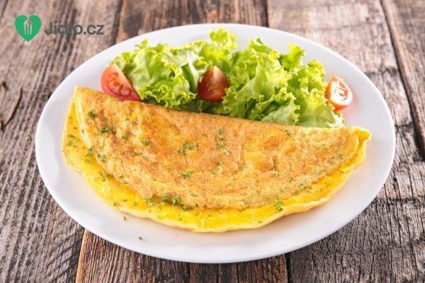Vaječná omeleta se slaninou recept