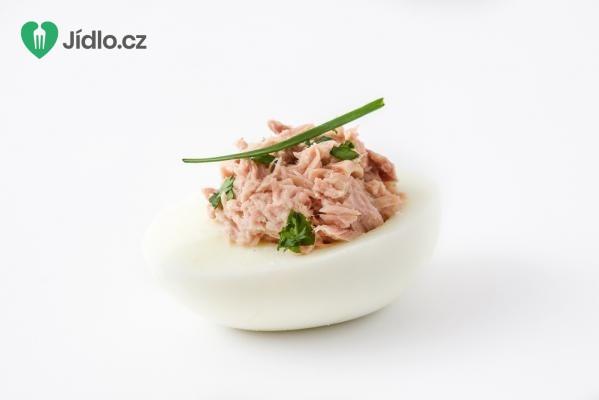 Vejce s tuňákem recept