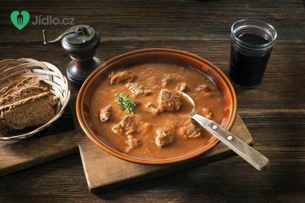 Výborná gulášová polévka recept