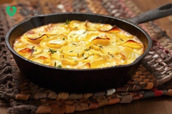 Zapečené brambory v troubě  recept