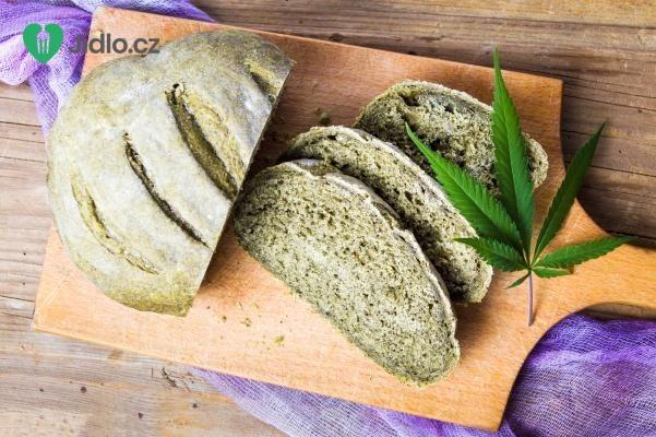 Zelený konopný chléb recept