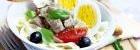 Saláty s masem recepty