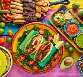 Barevná mexická kuchyně