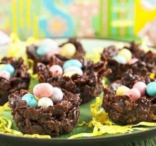Čokoládová hnízda