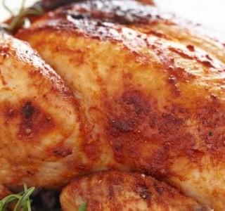 Šťavnaté pečené kuře