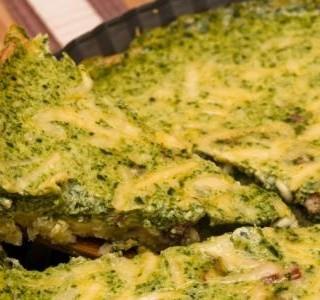 Špenátový quiche (kiš)