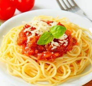Boloňské špagety s tofu