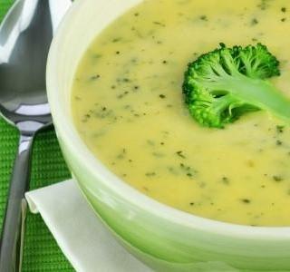 Brokolicová polévka krémové konzistence