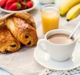 Croissant s čokoládou recept