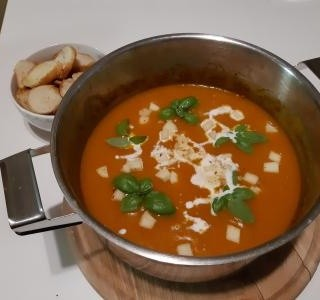 Dýňová polévka