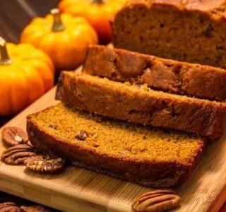 Recept Dýňový chléb