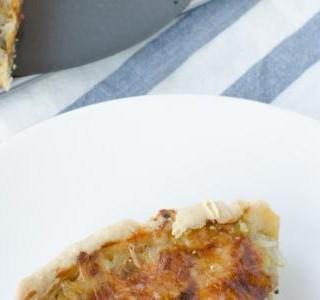 Francouzský cibulový koláč recept