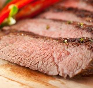 Grilovaný marinovaný  steak