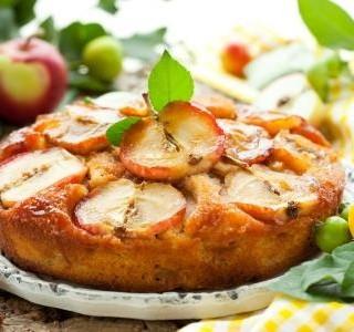 Jablečný koláč bez lepku