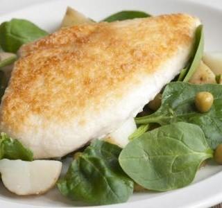 Jarní kuře s parmezánem a brambory recept