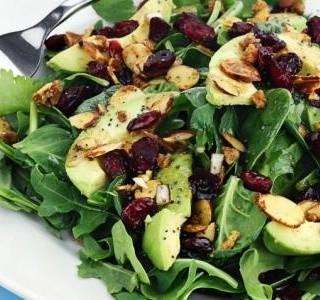 Kalifornský salát s avokádem