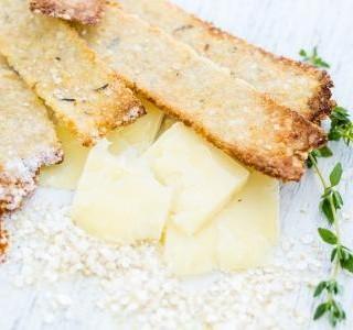 Křehké pečivo se sýrem