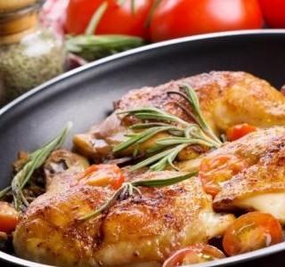 Kuře na rozmarýnu recept