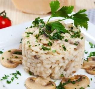 Kuřecí rizoto  s houbami