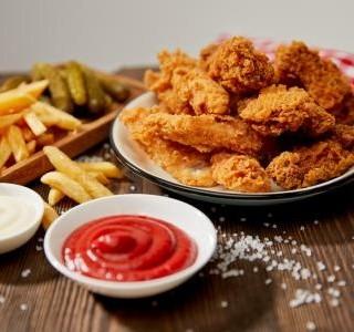 Kuřecí řízky ála KFC