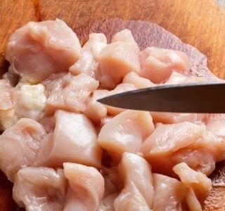Lehce pikantní kuřecí směs recept