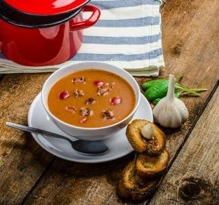 Maďarská plíčková polévka