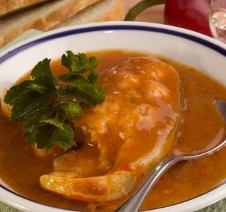 Maďarská slepičí polévka