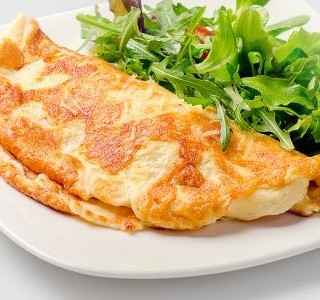 Mandlová omeleta recept