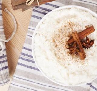 Mandlovo-rýžový puding
