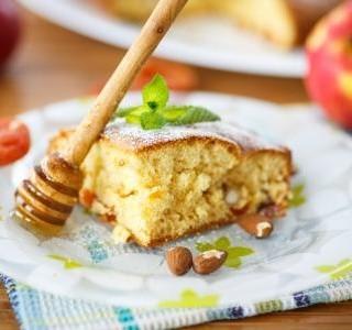 Mandlový koláč s medem recept