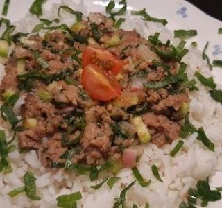 Mleté maso s rýží
