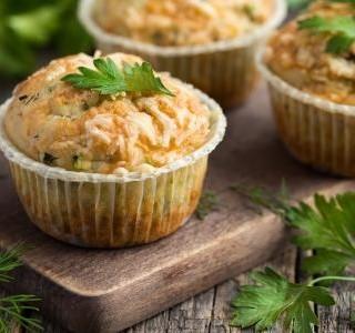 Muffiny se sušenými rajčaty recept