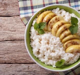 Nákyp s rýží a jablky