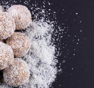 Nepečené cukroví z jedlých kaštanů