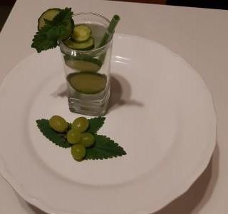Okurkový osvěžující nápoj recept