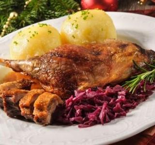 Recept Pečená kachna