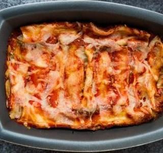 Pečené těstoviny se sýrem