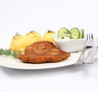 Pečené bramborové hrudky