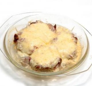Pikantní roštěnky pečené v alobalu recept